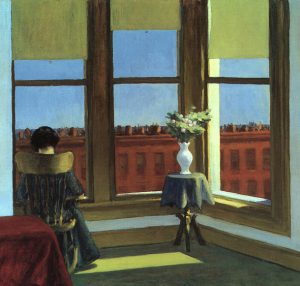 Edward Hopper, Stanza a Brooklyn, 1932, olio su tela, 85 x 72,5 cm, Boston, Museum of Fine Arts