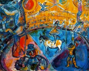 "Marc Chagall - ""The Horse Circus"""
