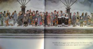"""Illustrazione tratta dal libro """"Incontri-Disincontri"""", Jimmy Liao, Terre di Mezzo editore, 2017"""