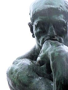Auguste Rodin, Le Penseur, musée Rodin, Parigi