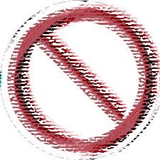 Non calpestare le aiuole e altri divieti