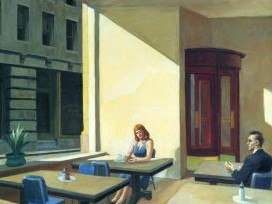 Edward Hopper, Sunlight in a Cafeteria, 1958