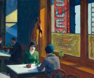 Eduard Hopper, Chop Suey, 1929