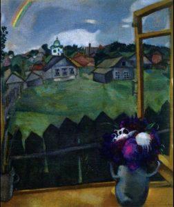 Marc Chagall, Finestra Vitebsk 1908