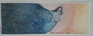 notte mantello di stelle mantello buio notte e giorno