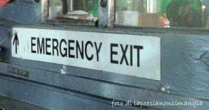 uscita d'emergenza
